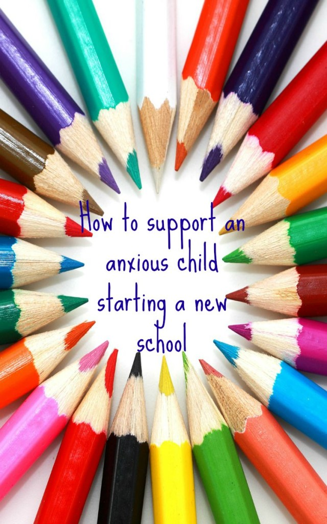 anxious child. support an anxious child