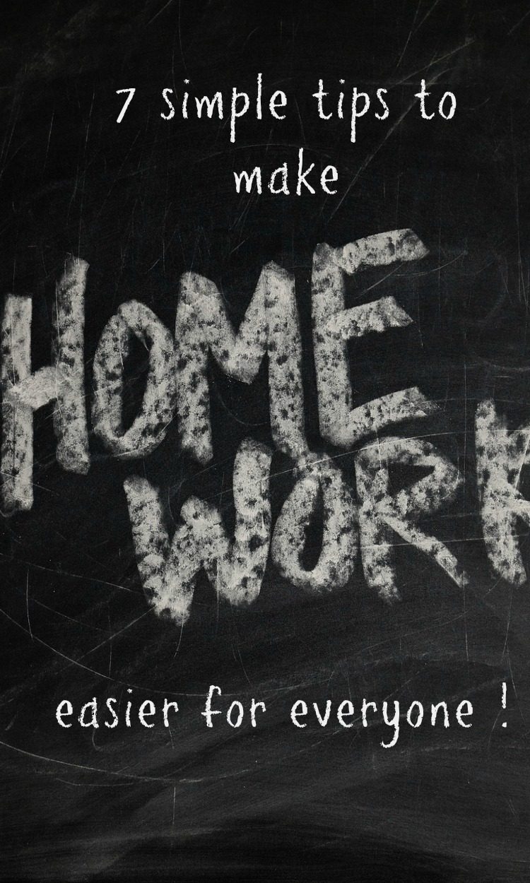 simple homework tips