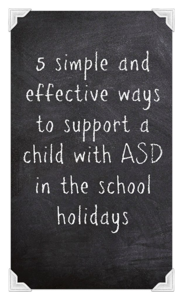 ways to support a child with ASD