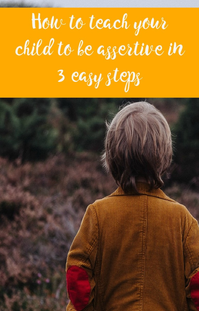 teach your child to be assertive