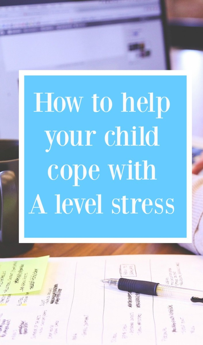cope with A level Stress